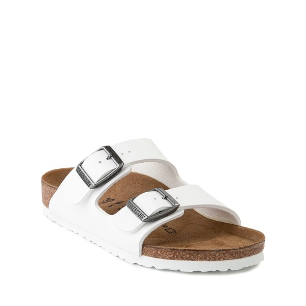 alternate image alternate view Birkenstock Arizona Sandal - Little Kid - WhiteALT5