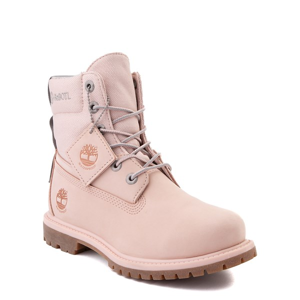 "alternate image alternate view Womens Timberland 6"" ReBOTL™ Boot - Light PinkALT1"