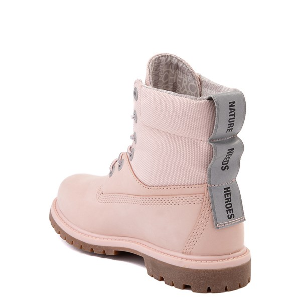 "alternate image alternate view Womens Timberland 6"" ReBOTL™ Boot - Light PinkALT2"