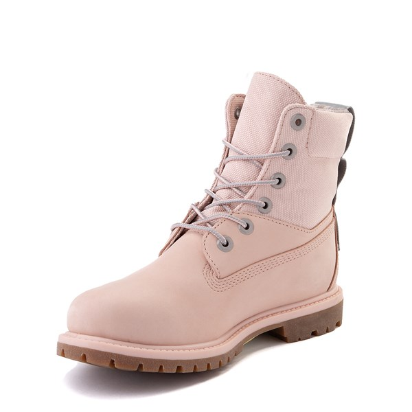"alternate image alternate view Womens Timberland 6"" ReBOTL™ Boot - Light PinkALT3"