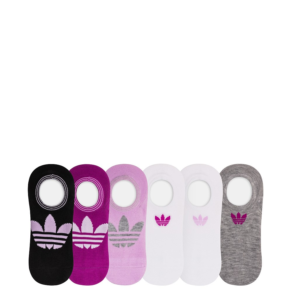 Womens adidas Trefoil Liners 6 Pack