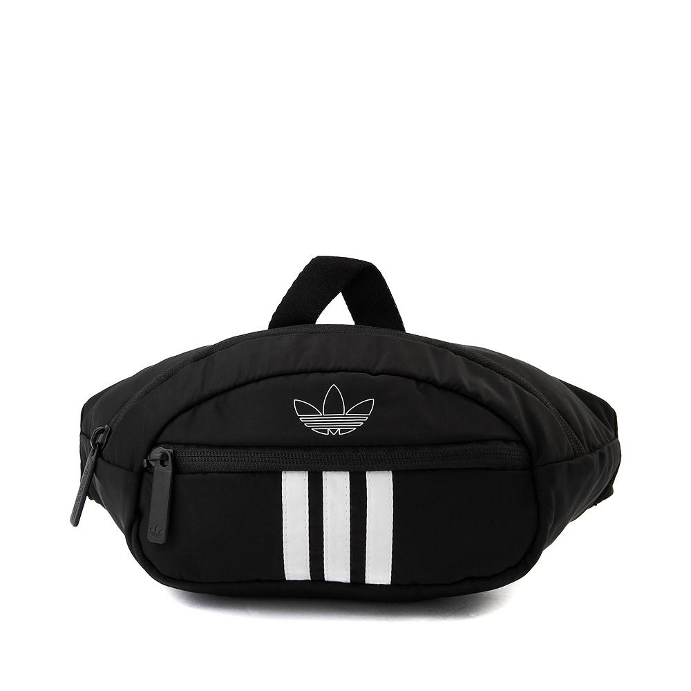 adidas National 3-Stripes Travel Pack - Black / White