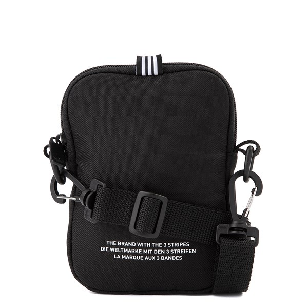 alternate image alternate view adidas Originals Trefoil Crossbody Festival Bag - BlackA1