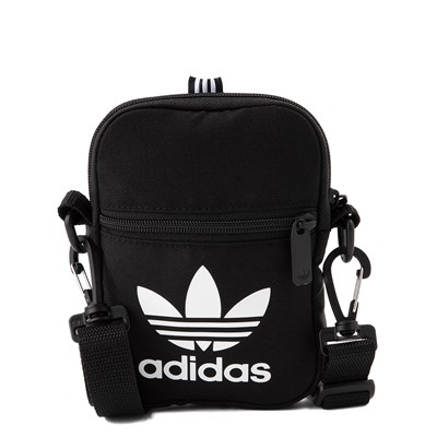 Main view of adidas Originals Trefoil Crossbody Festival Bag - Black
