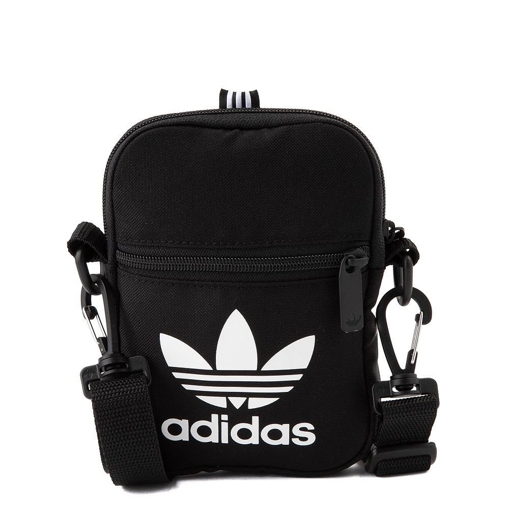 adidas Originals Trefoil Crossbody Festival Bag - Black