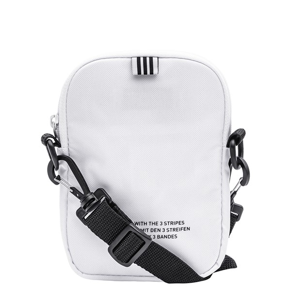 alternate image alternate view adidas Originals Trefoil Crossbody Festival Bag - WhiteALT1