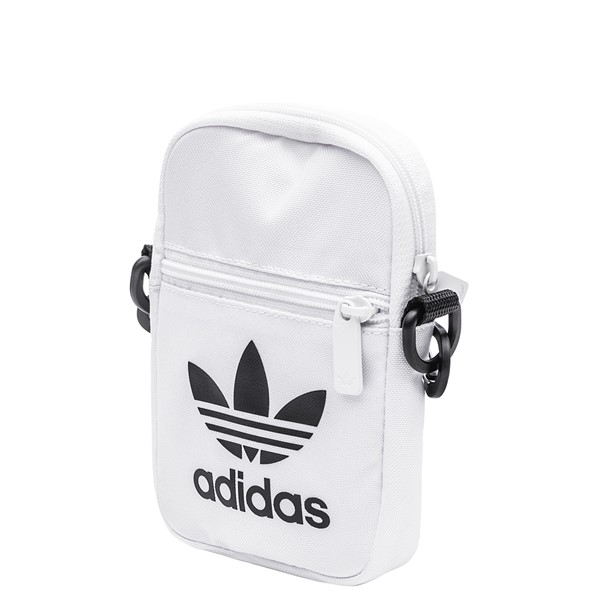 alternate image alternate view adidas Originals Trefoil Crossbody Festival Bag - WhiteALT4