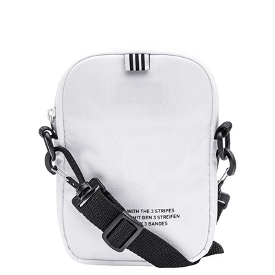 Alternate view of adidas Originals Trefoil Crossbody Festival Bag - White