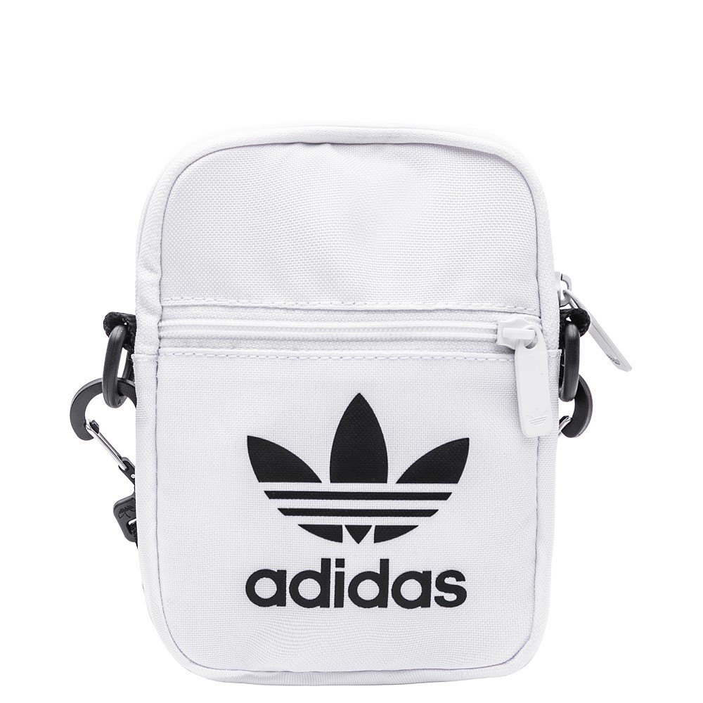 adidas Originals Trefoil Crossbody Festival Bag - White