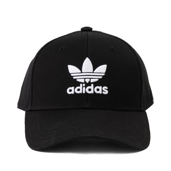 Main view of adidas Trefoil Relaxed Dad Hat - Black
