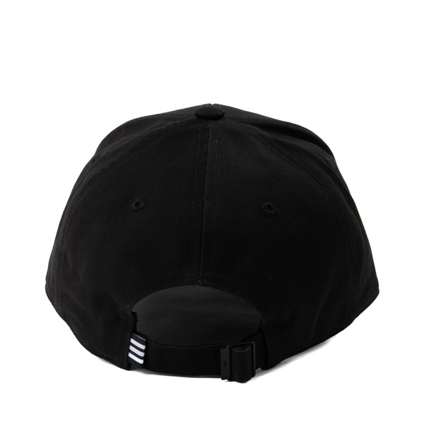 alternate image alternate view adidas Trefoil Relaxed Dad Hat - BlackALT1