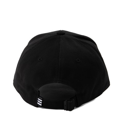 Alternate view of adidas Trefoil Relaxed Dad Hat - Black