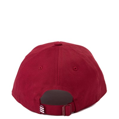 Alternate view of adidas Trefoil Relaxed Dad Hat - Maroon