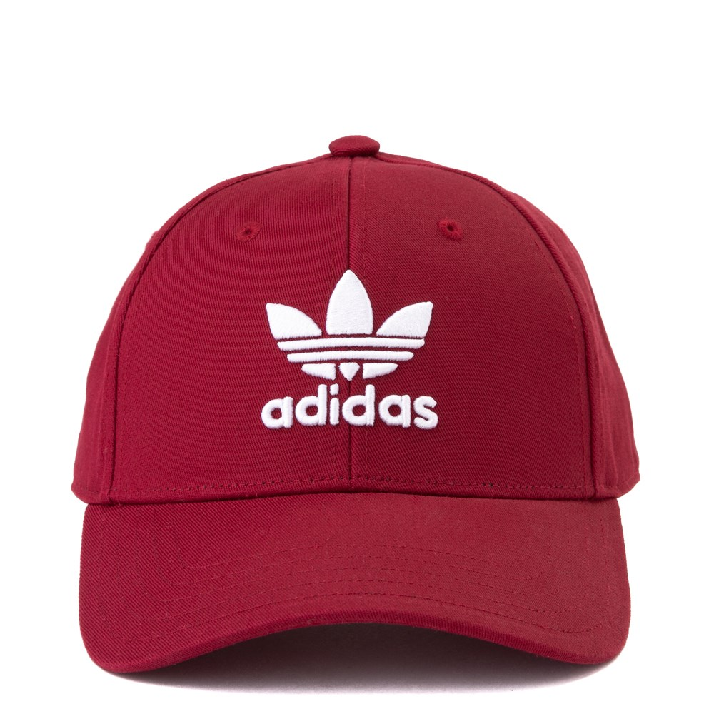 adidas Trefoil Relaxed Dad Hat - Maroon