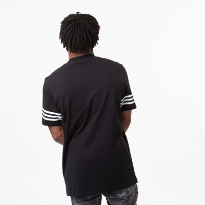 Alternate view of Mens adidas Outline Tee - Black