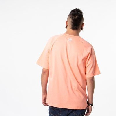 Alternate view of Mens adidas Big Trefoil Tee - Chalk Coral