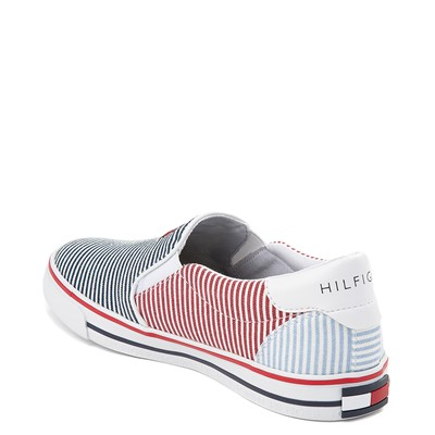 Alternate view of Womens Tommy Hilfiger Oaklyn Slip On Casual Shoe - Navy / Red
