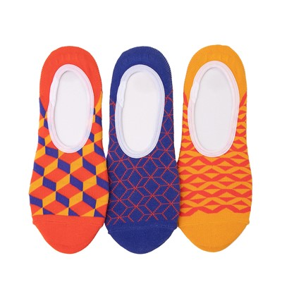 Main view of Womens Vans Primary Geo Canoodle Liners 3 Pack - Multi