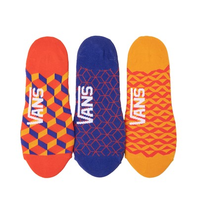 Alternate view of Womens Vans Primary Geo Canoodle Liners 3 Pack - Multi