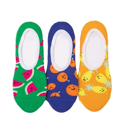 Main view of Womens Vans Fruit Canoodle Liners 3 Pack - Multi