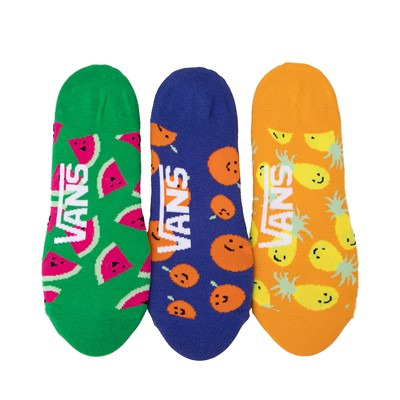 Alternate view of Womens Vans Fruit Canoodle Liners 3 Pack - Multi