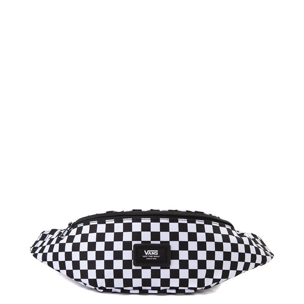 Main view of Vans Mini Ward Checkerboard Travel Pack - Black / White