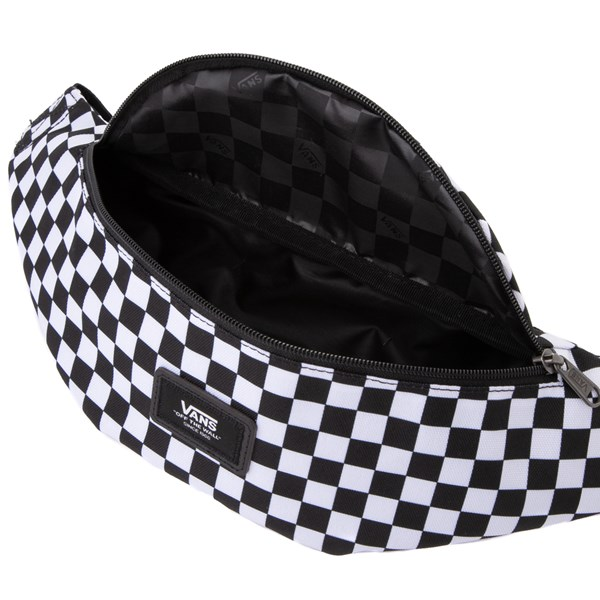 alternate image alternate view Vans Mini Ward Checkerboard Travel Pack - Black / WhiteALT3