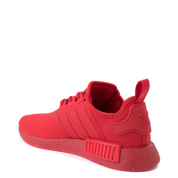 alternate image alternate view Mens adidas NMD R1 Athletic Shoe - Scarlet MonochromeALT2