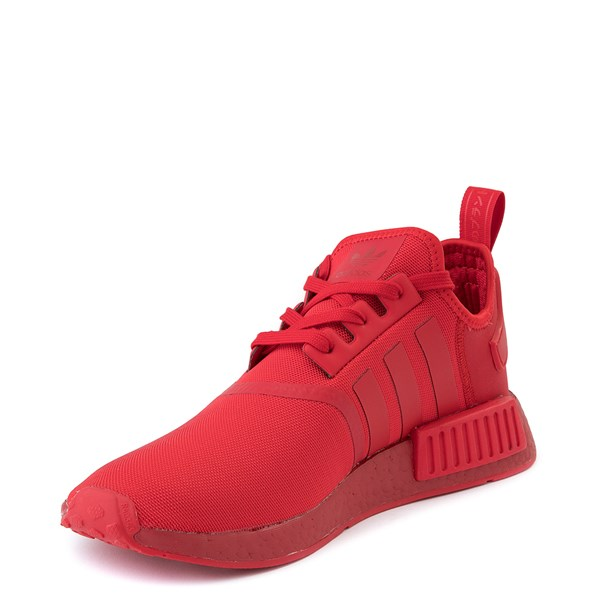 alternate image alternate view Mens adidas NMD R1 Athletic Shoe - Scarlet MonochromeALT3
