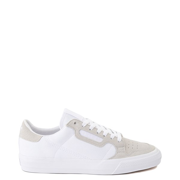 Main view of Mens adidas Continental Vulc Athletic Shoe - White
