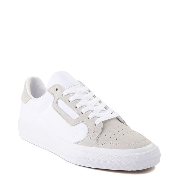 alternate image alternate view Mens adidas Continental Vulc Athletic Shoe - WhiteALT1
