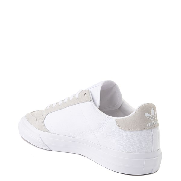 alternate image alternate view Mens adidas Continental Vulc Athletic Shoe - WhiteALT2