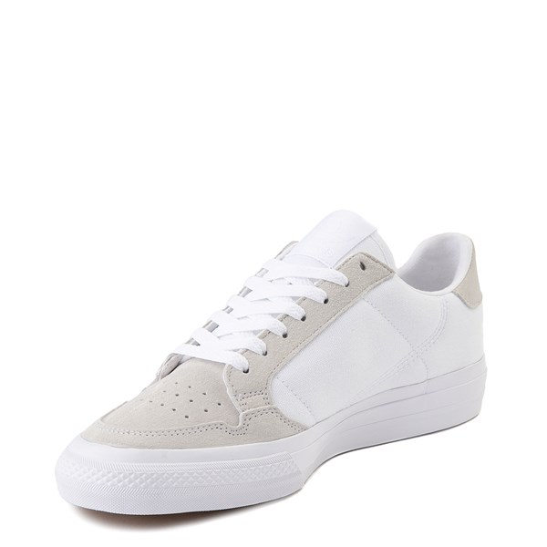 alternate image alternate view Mens adidas Continental Vulc Athletic Shoe - WhiteALT3