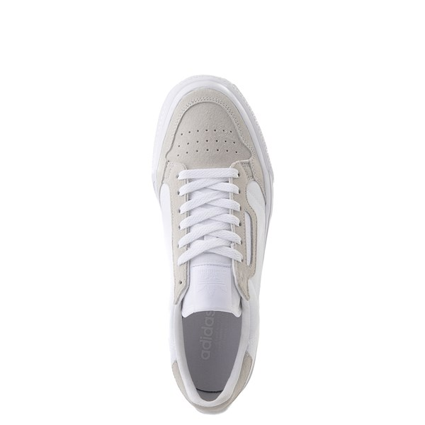 alternate image alternate view Mens adidas Continental Vulc Athletic Shoe - WhiteALT4B