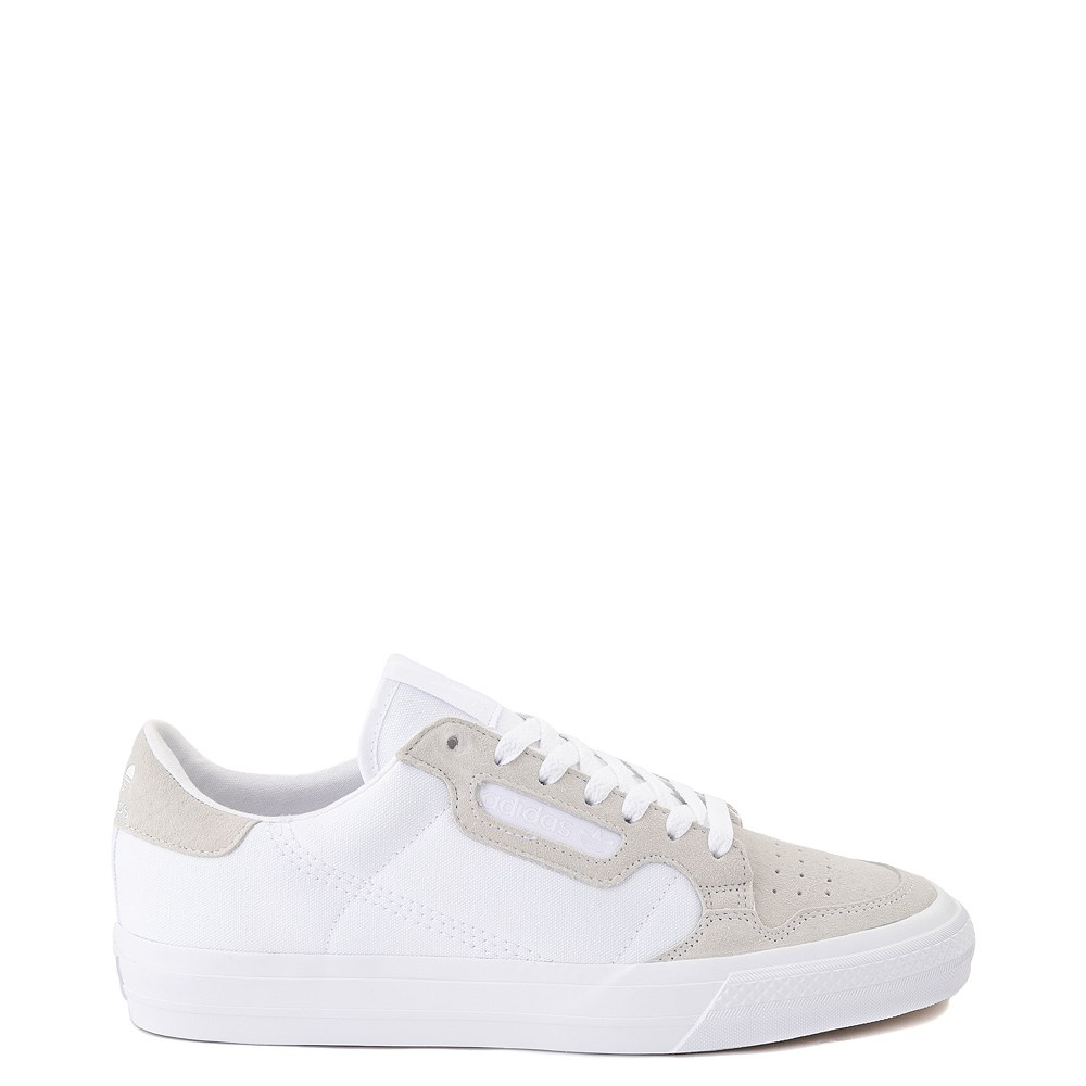 Mens adidas Continental Vulc Athletic Shoe - White