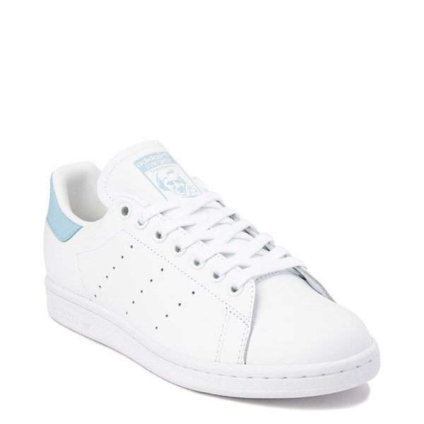 alternate image alternate view Womens adidas Stan Smith Athletic Shoe - White / Clear SkyALT1