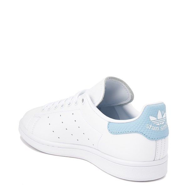 alternate image alternate view Womens adidas Stan Smith Athletic Shoe - White / Clear SkyALT2