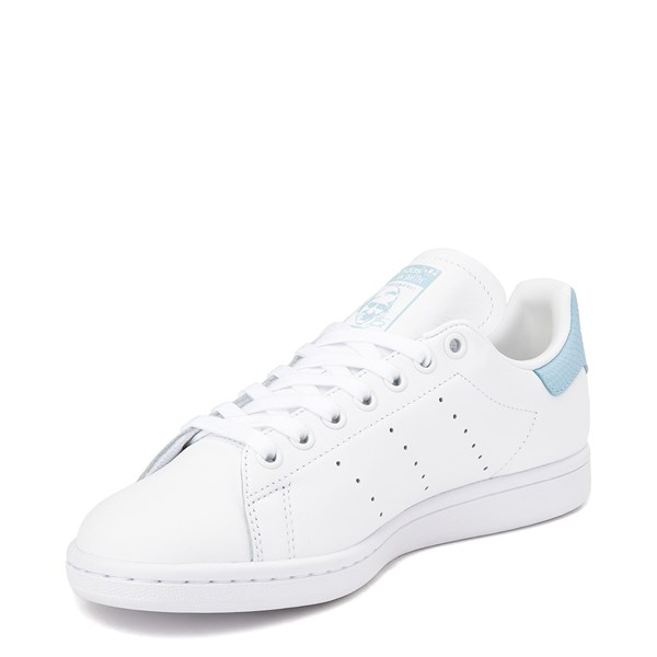 alternate image alternate view Womens adidas Stan Smith Athletic Shoe - White / Clear SkyALT3