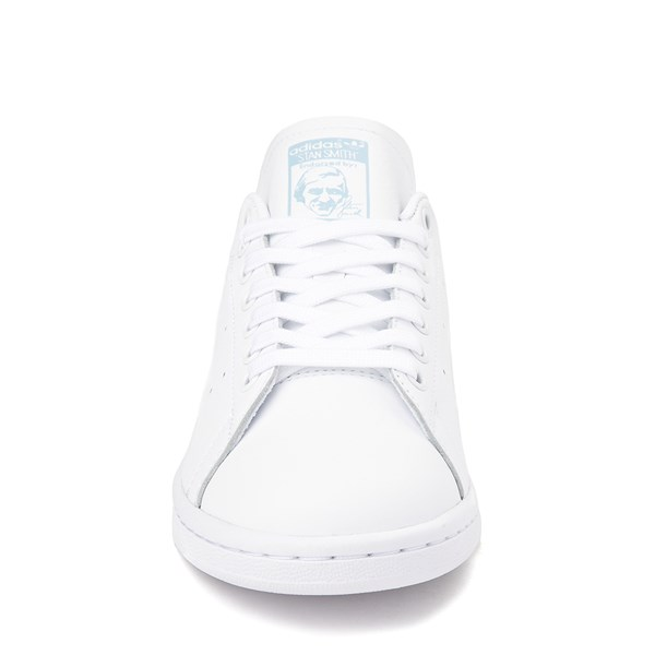 alternate image alternate view Womens adidas Stan Smith Athletic Shoe - White / Clear SkyALT4