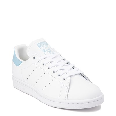 Alternate view of Womens adidas Stan Smith Athletic Shoe - White / Clear Sky