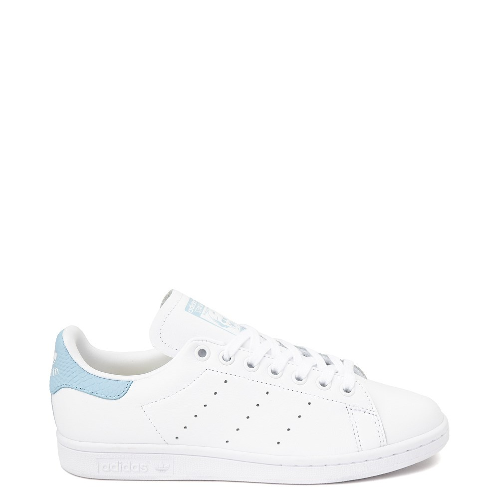 Womens adidas Stan Smith Athletic Shoe - White / Clear Sky