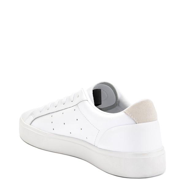 alternate image alternate view Womens adidas Sleek Athletic Shoe - WhiteALT1