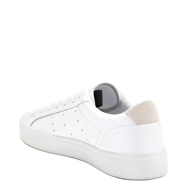 alternate image alternate view Womens adidas Sleek Athletic Shoe - WhiteALT2