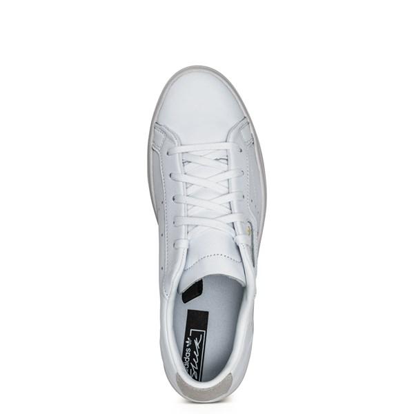 alternate image alternate view Womens adidas Sleek Athletic Shoe - WhiteALT4B
