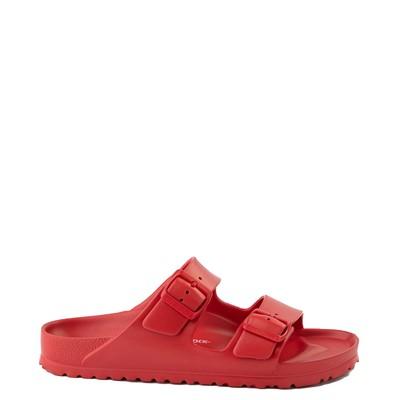 Main view of Mens Birkenstock Arizona EVA Sandal - Red
