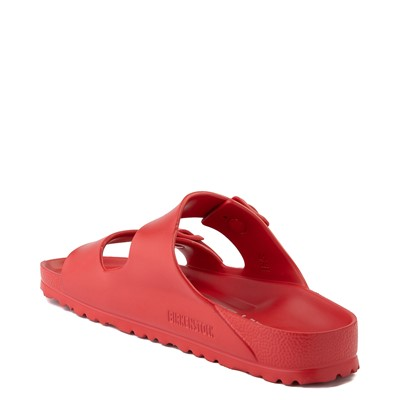 Alternate view of Mens Birkenstock Arizona EVA Sandal - Red