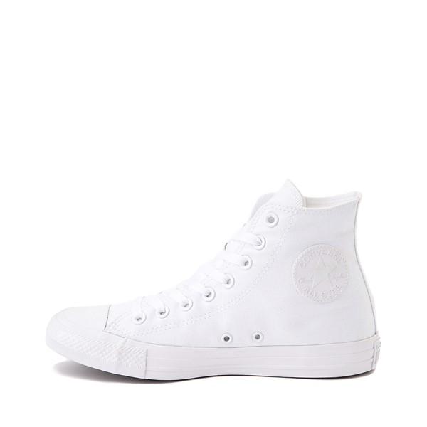 alternate view Converse Chuck Taylor All Star Hi Sneaker - White MonochromeALT1