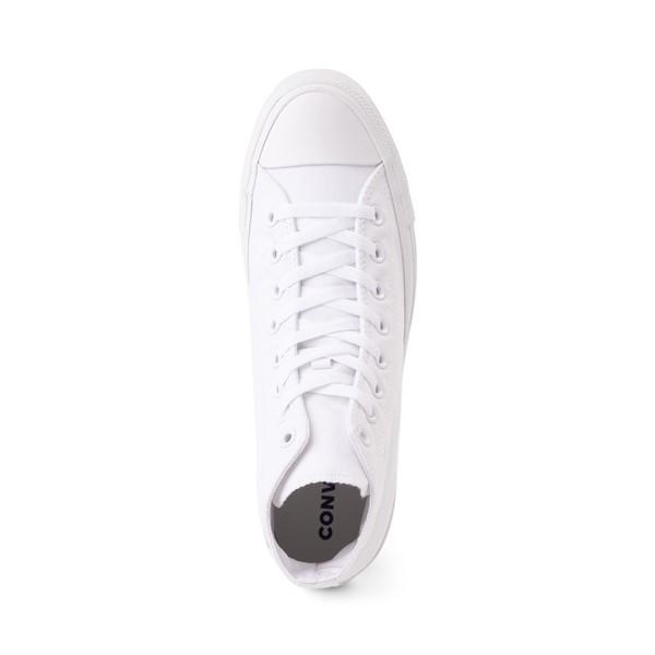 alternate view Converse Chuck Taylor All Star Hi Sneaker - White MonochromeALT2