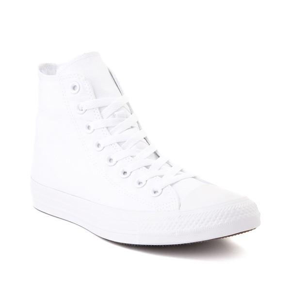 alternate view Converse Chuck Taylor All Star Hi Sneaker - White MonochromeALT5