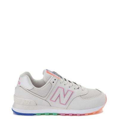 Main view of Womens New Balance 574 Outer Glow Athletic Shoe - Stone / Multi